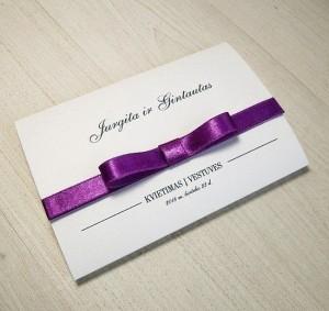 Vestuviniai kvietimai VK60. <strong>1,6 €</strong>