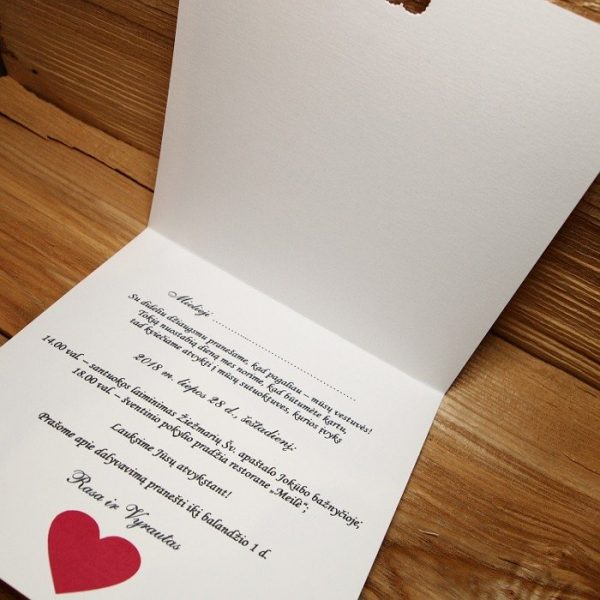 Vestuviniai kvietimai VK71