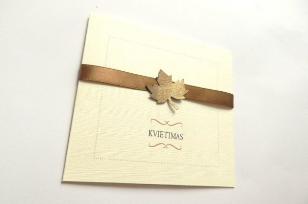 Vestuvinis kvietimas - VK75