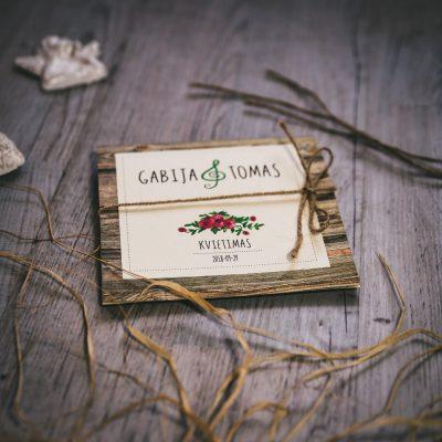 Vestuviniai kvietimai - VK77
