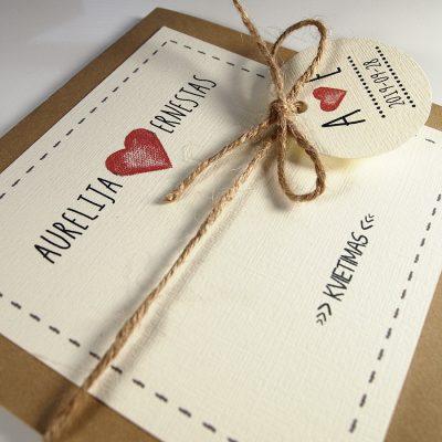 Vestuviniai kvietimai VK78