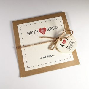 Vestuviniai kvietimai VK78.  <strong>1,8 €</strong>