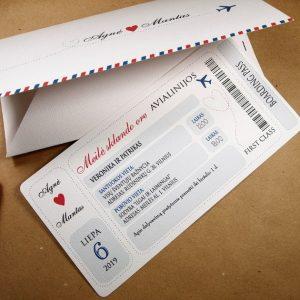 Vestuviniai kvietimai VK76.  <strong>1,9 €</strong>