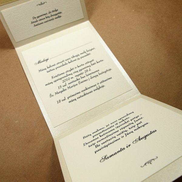 Vestuviniai kvietimai VK83