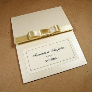 Vestuviniai kvietimai VK83.  <strong>2,2 €</strong>