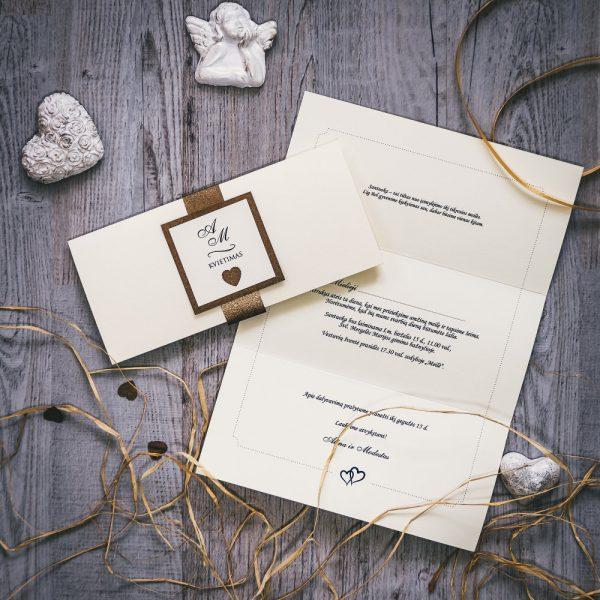 Vestuviniai kvietimai - VK87