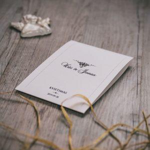 Vestuviniai kvietimai VK89. <strong>1,2 €</strong>