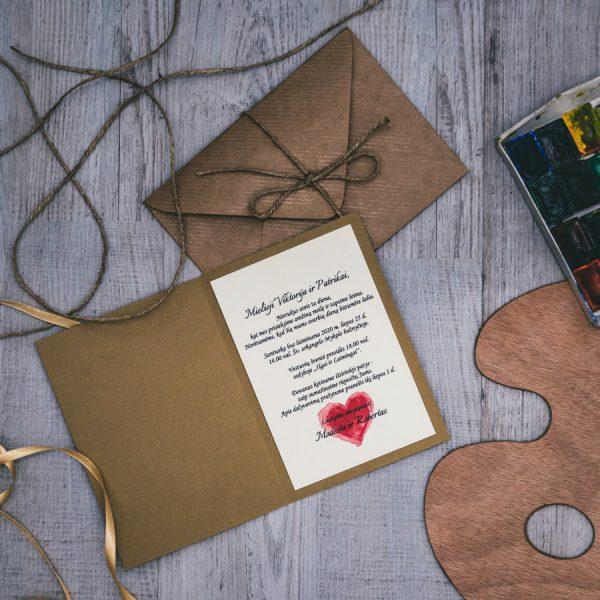 Vestuviniai kvietimai VK92