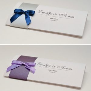 Vestuviniai kvietimai VK38.  <strong>1,6 €</strong>