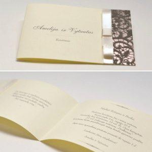 Vestuviniai kvietimai VK42. <strong>1,8 €</strong>