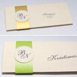 Vestuviniai kvietimai VK52.  <strong>1,6 €</strong>