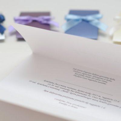 Vestuviniai kvietimai - VK38 su movomis