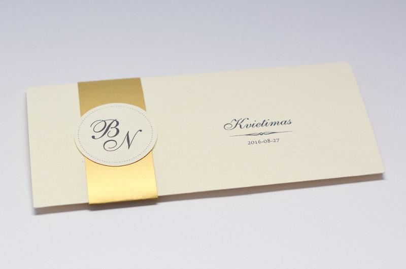 Vestuvinis kvietimas - VK52