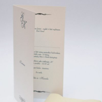 Vestuviniai kvietimai - VK68