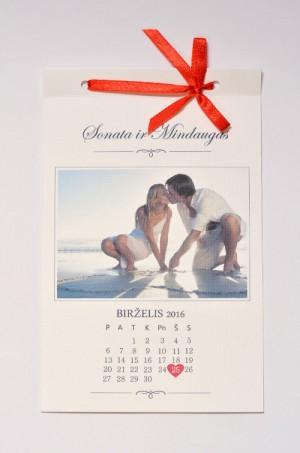 Vestuviniai kvietimai VK63. <strong>1,6 €</strong>
