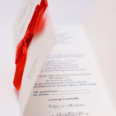 Vestuviniai kvietimai - VK64