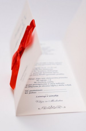 Vestuviniai kvietimai VK64. <strong>1,7 €</strong>