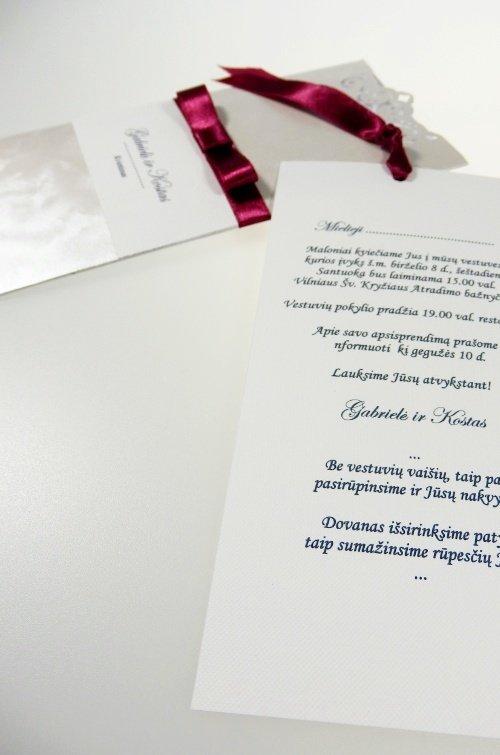 Vestuvinis kvietimas - VK70