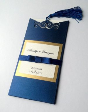 Vestuviniai kvietimai VK84. <strong>3,5 €</strong>