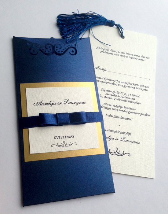 Vestuviniai kvietimai VK84