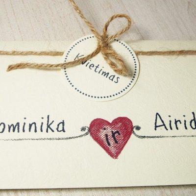 Vestuviniai kvietimai - VK74